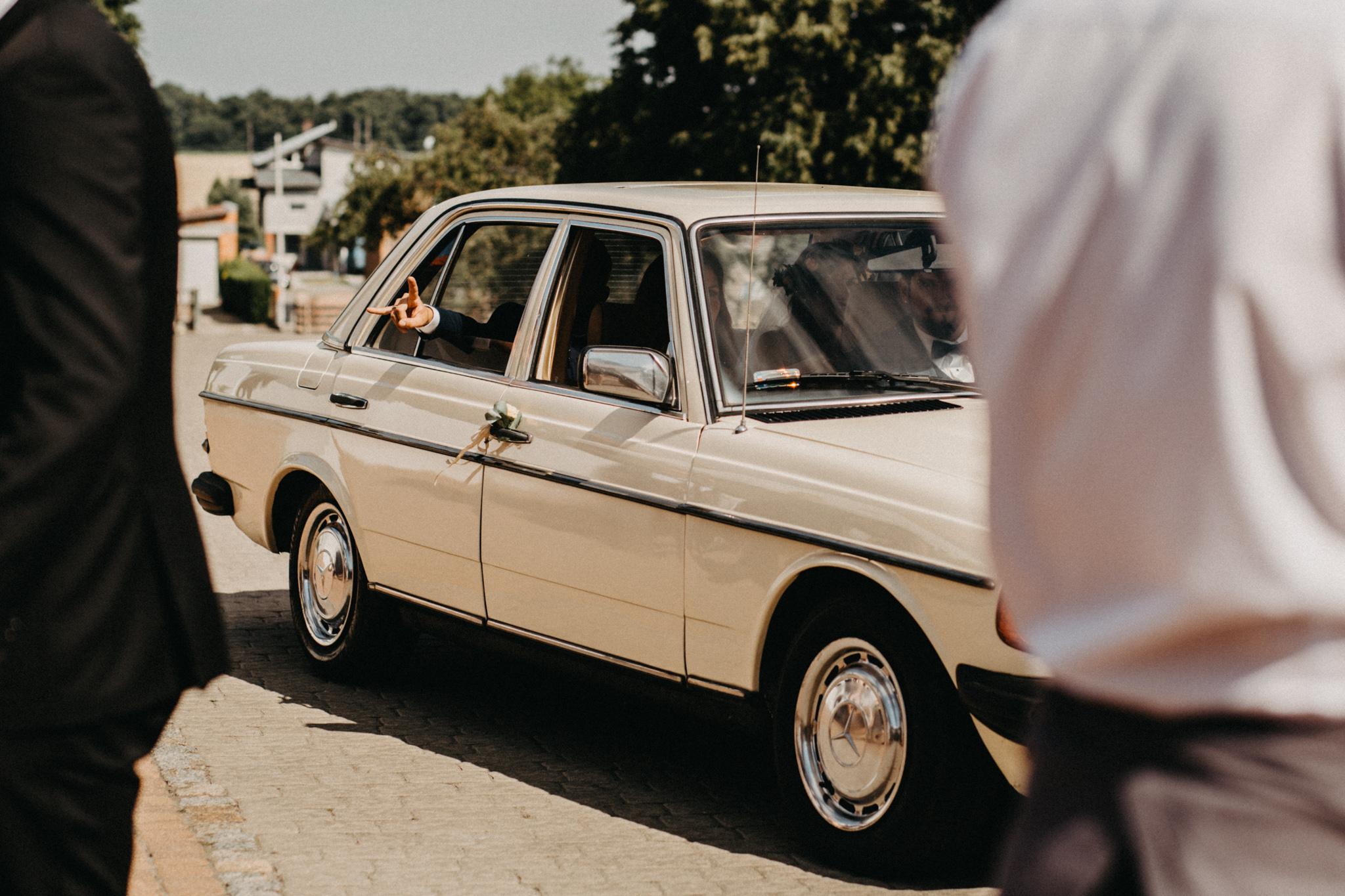 Aneta i Marcin ślub w Bagatelce