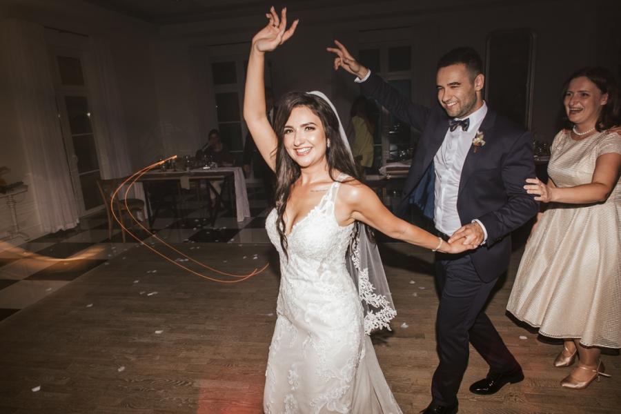ślub jesienią fotografia